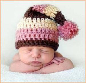 Ребёнок в шапке