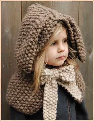 Детская шапка капор