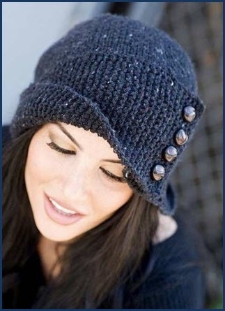 Модная шапка