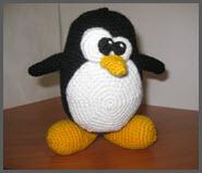 Вязаный пингвин