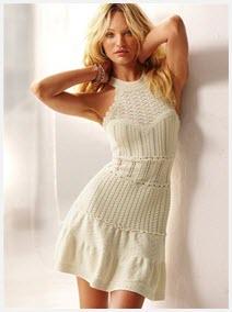 Открытое платье