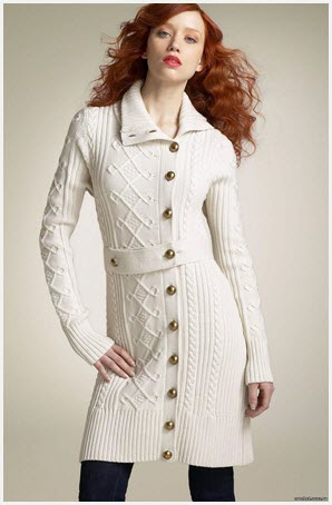 Белое  пальто2