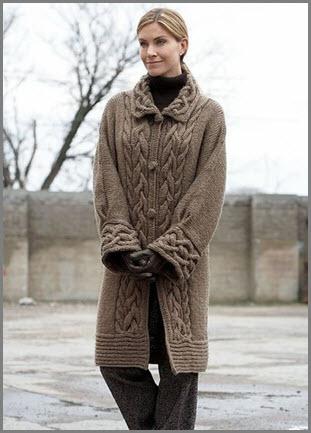 Коричневое пальто2