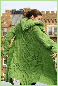 Зелёное пальто3