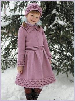 Розовое пальто3