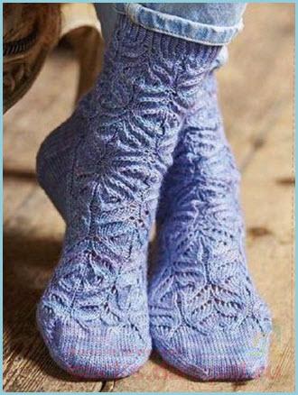 вязаные носки и следки Metelica Onlineru