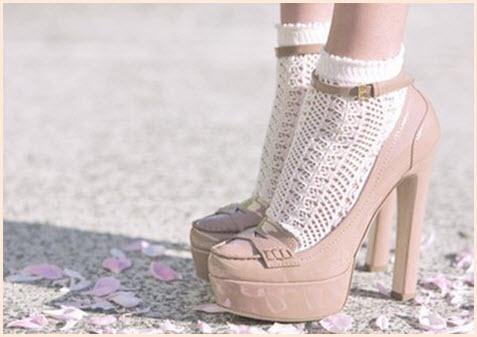 Носки и туфли