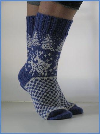 Носки новогодние