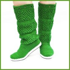Зелёные сапоги