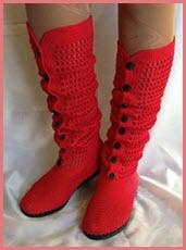 Красные сапоги