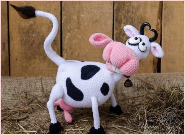 Вот такая прикольная коровка