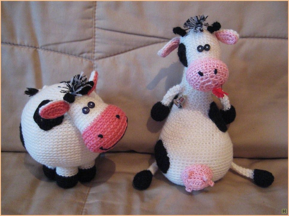 Две коровки подруги