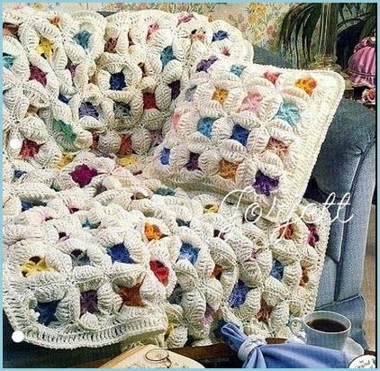 Плед и подушка