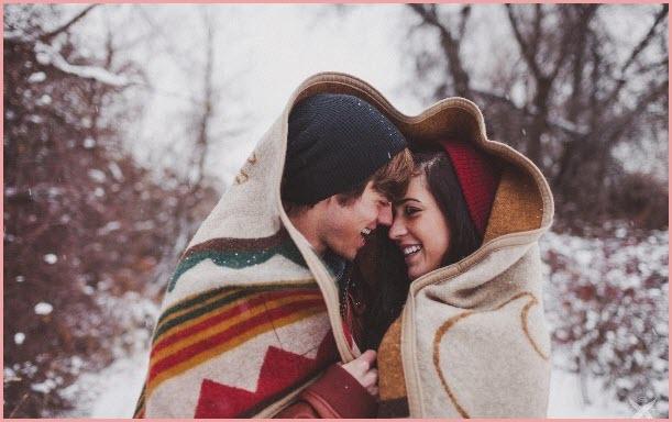 Плед для влюблённых