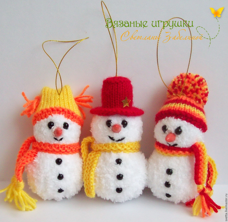 Красивые снеговики