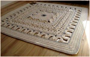 Прямоугольный коврик