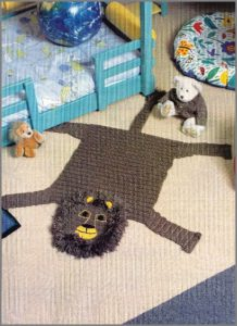 Шерстяной коврик