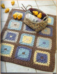 Красивый коврик