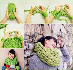 Связать шарф