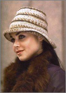 Очровательная дамская шляпка