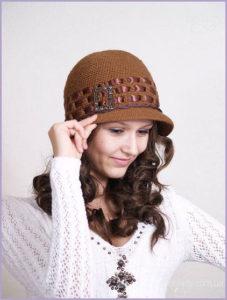 Шляпка французская