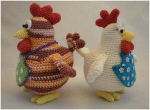 Курицы-хохлатки