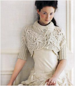 Болеро с платьем
