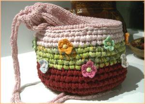 Корзинка для вязания