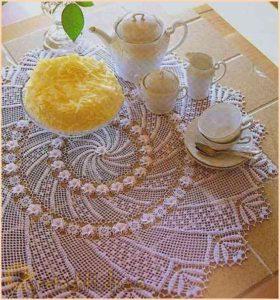 Салфетка к чаю