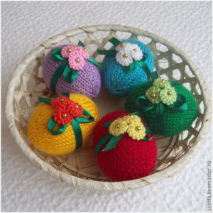 Пасхальные сувениры яйца