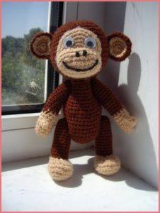 Сувенир обезьянка