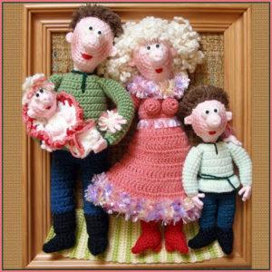 Сувенир счастливое семейство