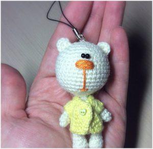 Сувенирный брелок мишка