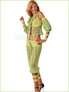 Оригинальный и весёлый летний костюм