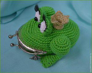 Кошелёк в виде лягушки