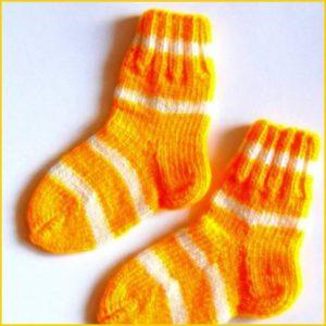 Ярко-жёлтые носки