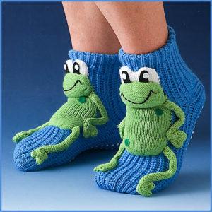 Детские носки с лягушатами