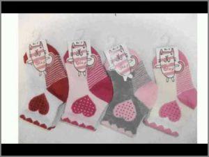 Носки с сердечками в наборе