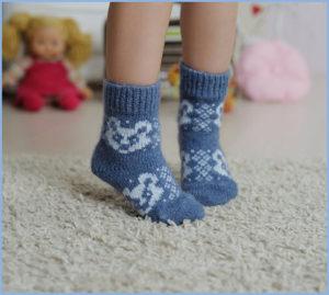 Детские носки с медвежатами
