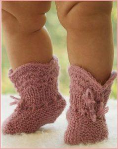 Миленькие носки-пинетки