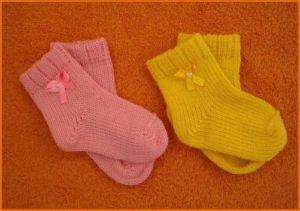 Детские носки для самых маленьких