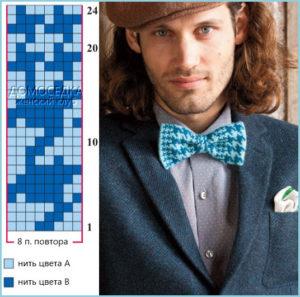 Парень в стильном галстуке