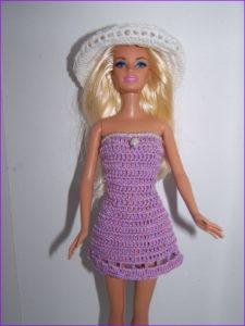 Кукла Барби на пляже