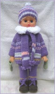 Кукла в куртке