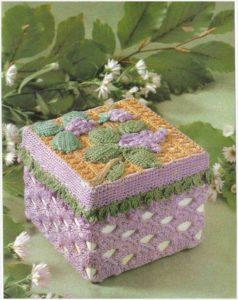 На фото смпатичная шкатулка квадратной формы