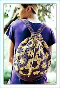 Рюкзак с цветами