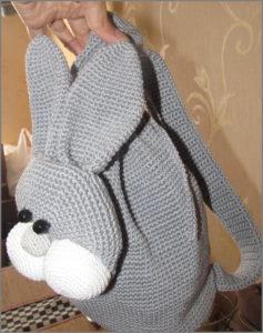 Рюкзак заяц