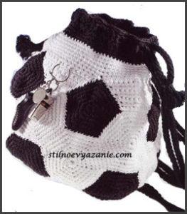 Рюкзак футбольный