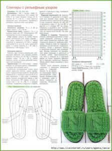 Женские тапочки