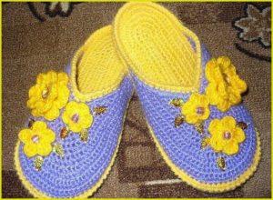 Тапочки шлёпки